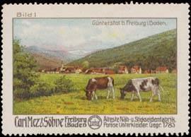 Günterstal bei Freiburg in Baden