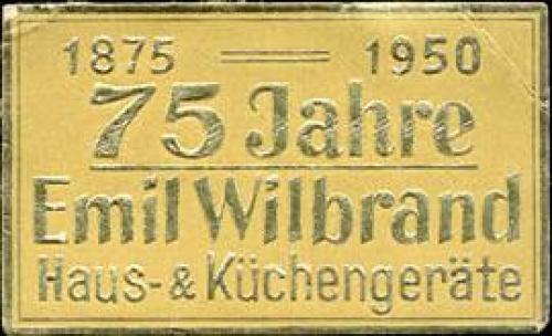 75 Jahre Emil Wildbrand Haus & Küchengeräte