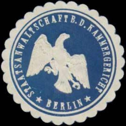 Staatsanwaltschaft b.d. Kammergericht Berlin