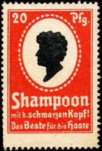 Schwarzkopf Shampoon mit dem schwarzen Kopf!
