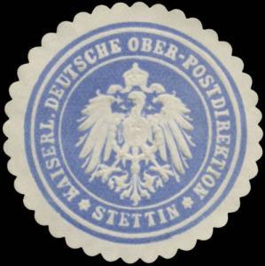 K. Deutsche Ober-Postdirektion Stettin