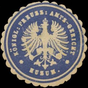 K. Pr. Amtsgericht Husm