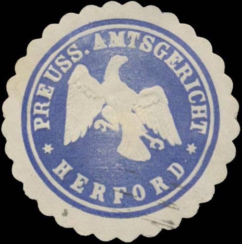 Pr. Amtsgericht Herford