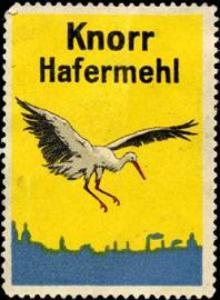 Knorr Hafermehl - Storch