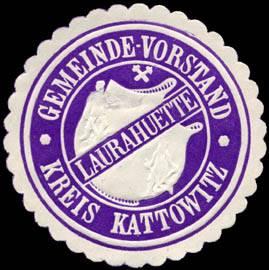 Gemeinde - Vorstand Laurahuette - Kreis Kattowitz