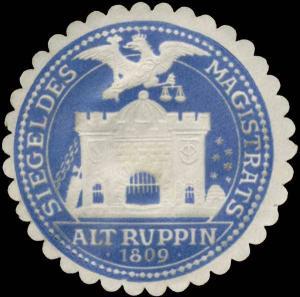 Siegel des Magistrats Alt Ruppin
