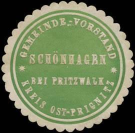 Gemeinde-Vorstand Schönhagen bei Pritzwalk