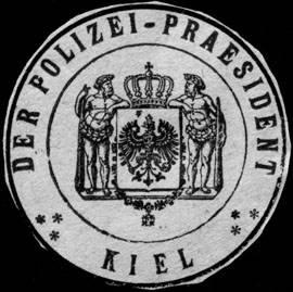 Der Polizei - Praesident - Kiel