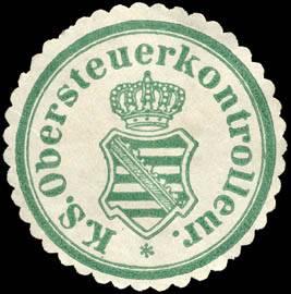 Königlich Sächsischer Obersteuerkontrolleur