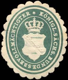 Königlich sächsischer Bundesbevollmächtigter