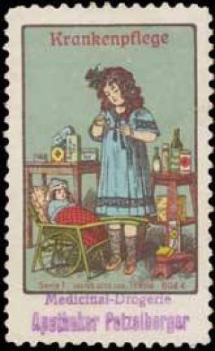 Krankenpflege der Puppenmutti