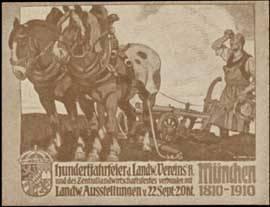 Hundertjahrfeier - Landwirtschaft