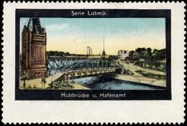 Hubbrücke und Hafenamt