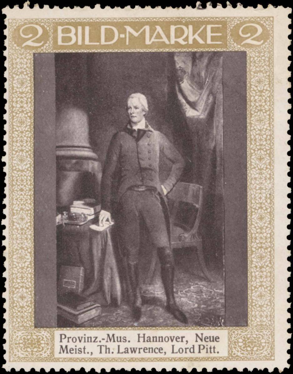 Thomas Lawrence, Lord Pitt