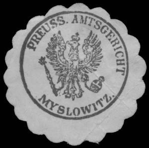 Pr. Amtsgericht Myslowitz