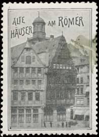 Alte Häuser am Römer