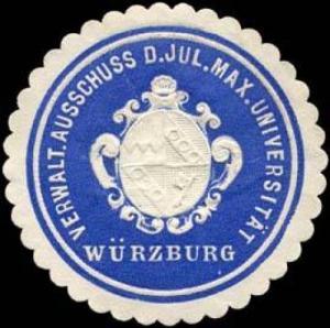 Verwaltungs Ausschuss der Jul. Max. Universität Würzburg