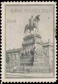 Denkmal Friedrich des Großen