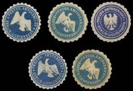 Berlin Lichtenberg Sammlung Siegelmarken