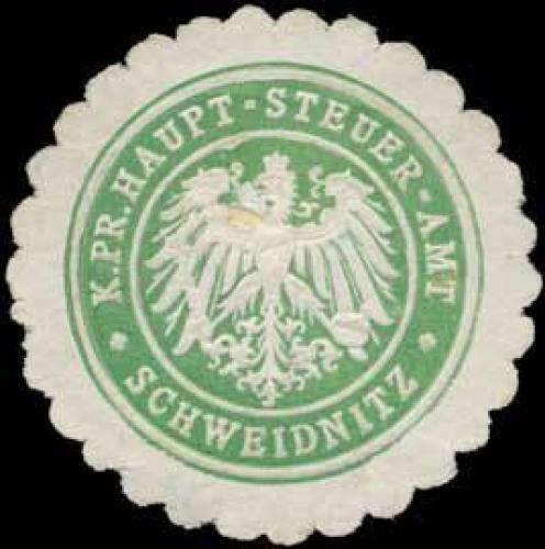 K.Pr. Haupt-Steuer-Amt Schweidnitz