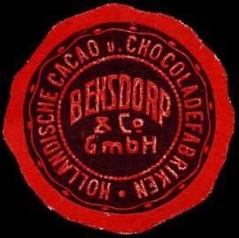 Holländische Cacao und Chocoladenfabriken Bensdorp & Co. GmbH