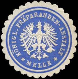 Königliche Präparandenanstalt - Melle