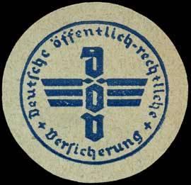 Deutsche öffentlich - rechtliche Versicherung