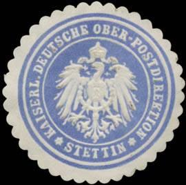 K. Deutsche Ober-Postdirektion Stettin/Pommern