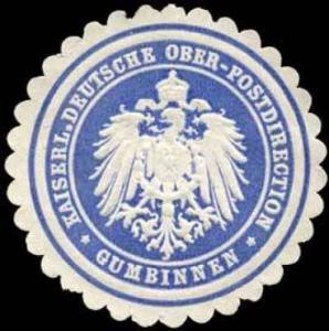 Kaiserliche Deutsche Ober - Postdirection - Gumbinnen