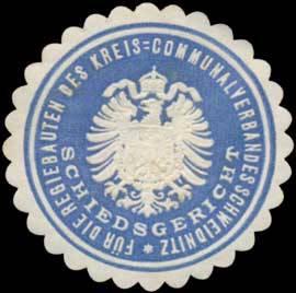 Schiedsgericht für die Regiebauten des Kreis-Communalverbandes Schweidnitz