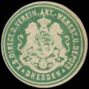 K.S. Direct. der Verein. Artillerie Werkstatt und Depots