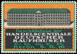 Geschäftshaus der Handelszentrale Deutscher Kaufhäuser