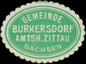 Gemeinde Burkersdorf Amtsh. Zittau