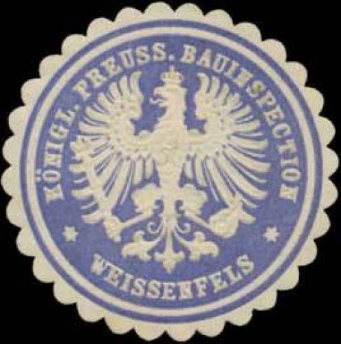 K.Pr. Bauinspection Weissenfels