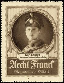 Karl Eduard - Herzog von Sachsen - Coburg und Gotha