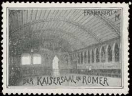 Der Kaisersaal im Römer