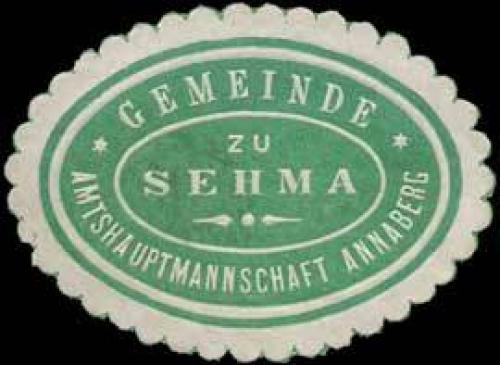 Gemeinde zu Sehma - Amtshauptmannschaft Annaberg