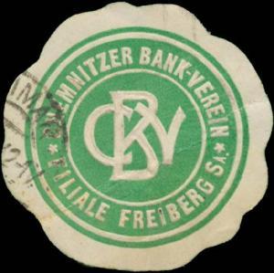 Chemnitzer Bank-Verein Filiale Freiberg