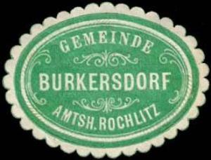 Gemeinde Burkersdorf - Amtshauptmannschaft Rochlitz