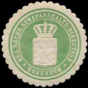 K.S. Strafanstalts-Direction Hoheneck