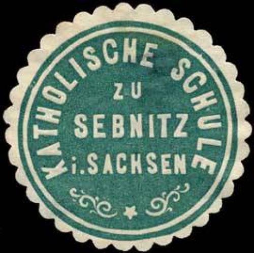 Katholische Schule zu Sebnitz in Sachsen