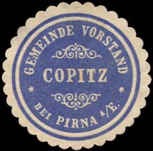 Gemeinde Vorstand Copitz bei Pirna an der Elbe