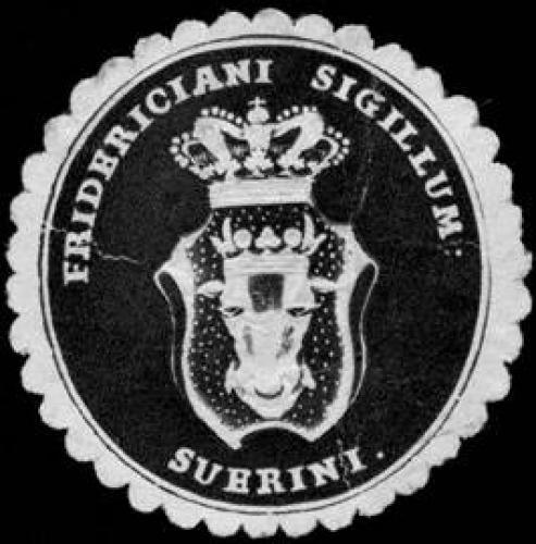 Fridericiane sigillum Suerini