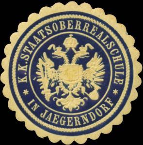 K.K. Staatsoberrealschule in Jaegerndorf
