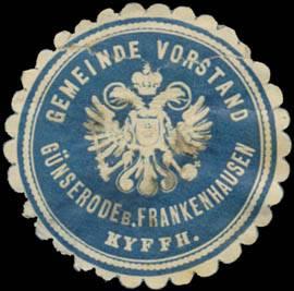 Gemeinde Vorstand Günserode bei Frankenhausen/Kyffhäuser