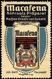 Macasena - Nährsalz - Präparat bester Kaffee - Ersatz und Zusatz