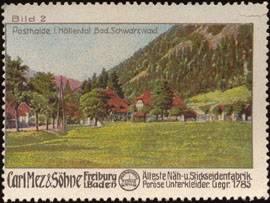 Posthalde im Höllental, Bad Schwarzwald