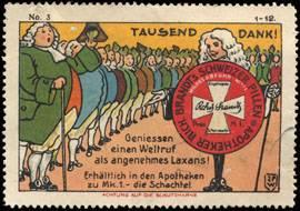 Abführmittel aus der Schweiz von der Apotheke
