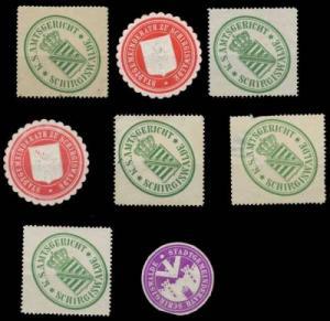 Schirgiswalde Sachsen Sammlung Siegelmarken