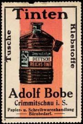 Tusche-Tinten-Klebstoffe